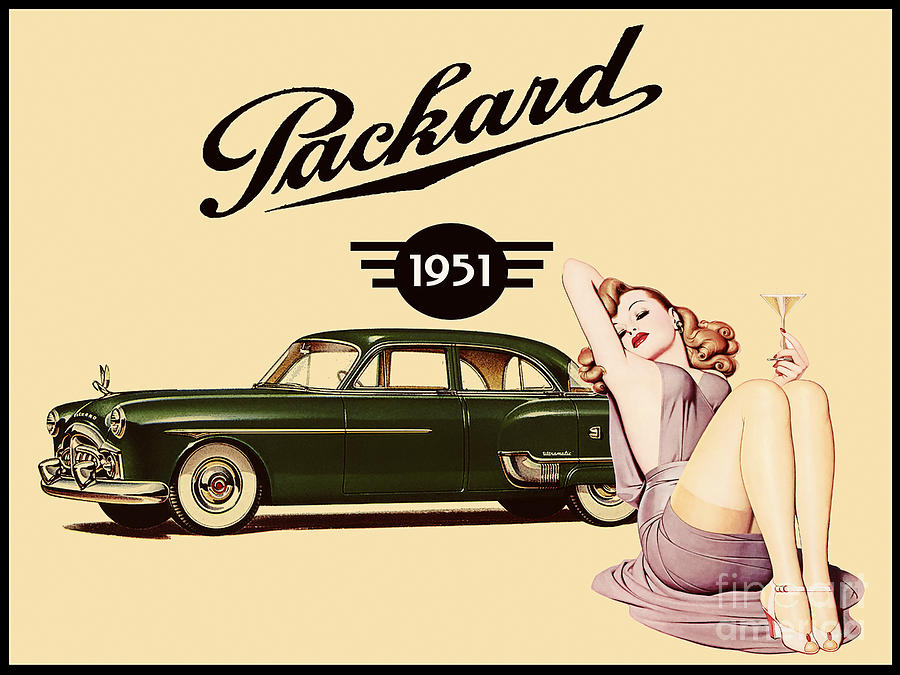 Packard 1951 Painting