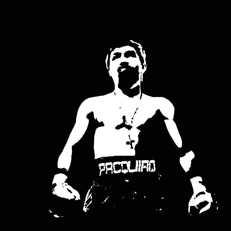 Pacquiao Digital Art  - Pacquiao Fine Art Print