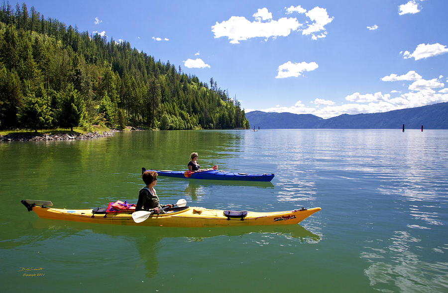 Lake pend preille