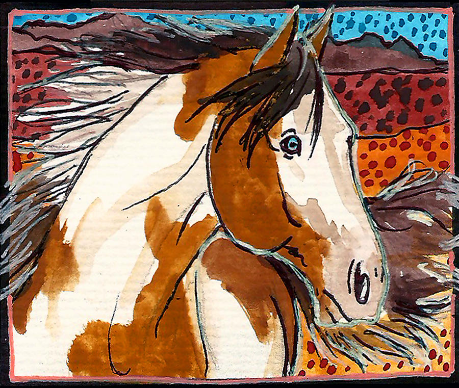 Painted Ponies 6 Of 10 Painting