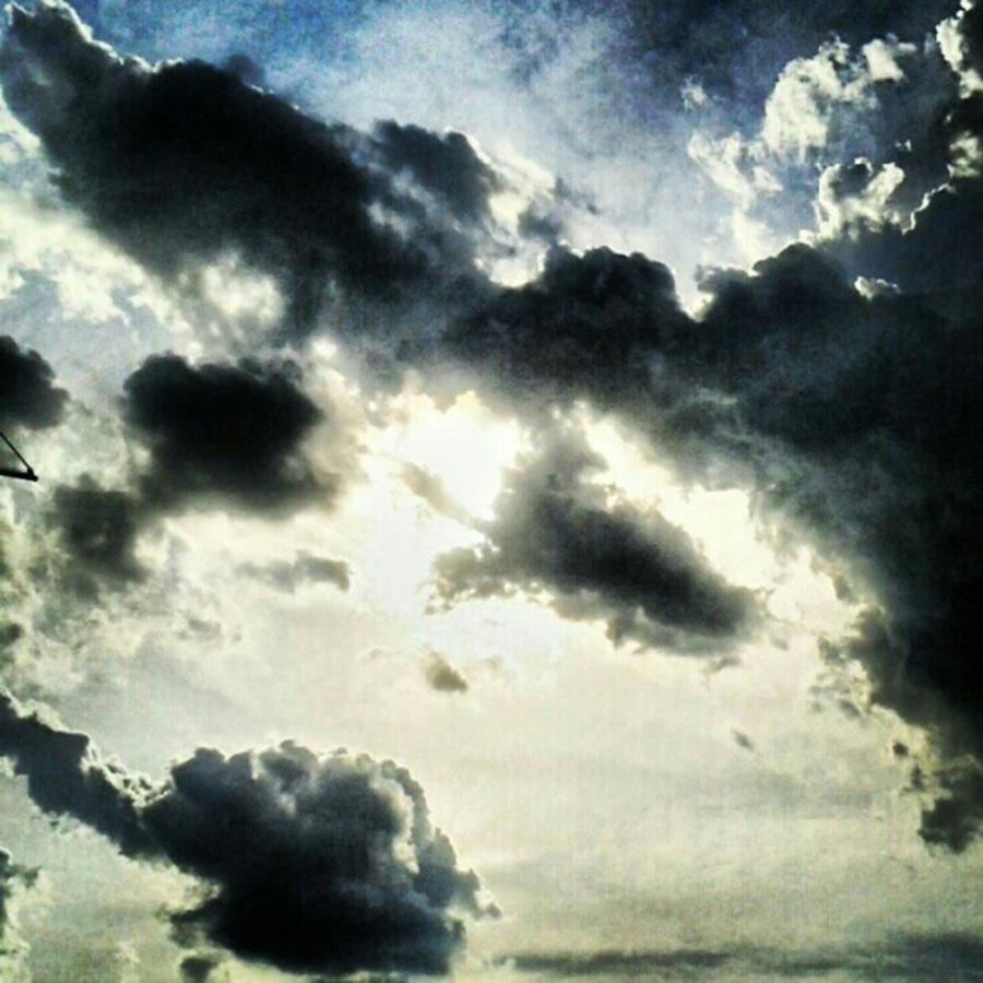 Andrography Photograph - #painted #sky #instadroid #andrography by Kel Hill