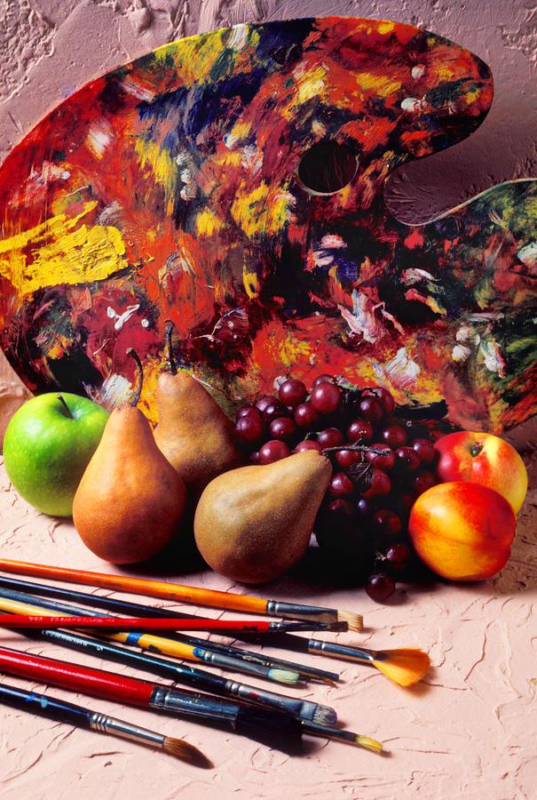 Painters Palette  Photograph