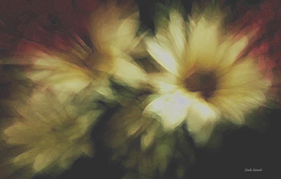 Painting Flowers Photograph  - Painting Flowers Fine Art Print