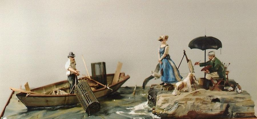 Painting On The Cape Sculpture