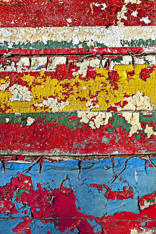 Painting Peeling Wall Photograph