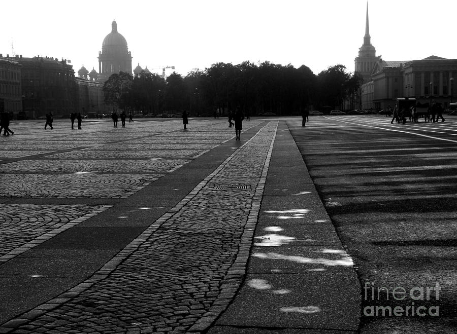 Palace Square In Saint Petersburg Photograph  - Palace Square In Saint Petersburg Fine Art Print