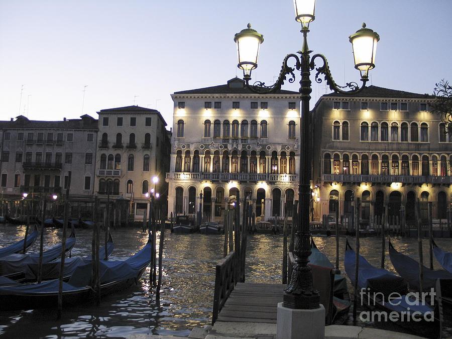 Aube Photograph - Palace. Venice by Bernard Jaubert