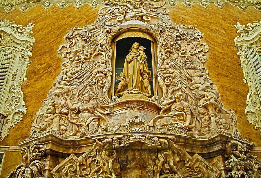 Palacio Del Marques De Dos Aguas - Valencia Photograph