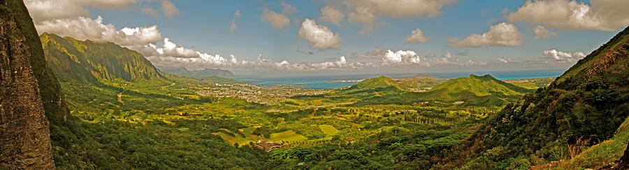 Pali Lookout Photograph  - Pali Lookout Fine Art Print