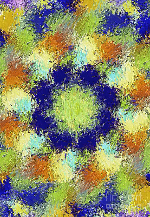 Pallet Of Colors Digital Art