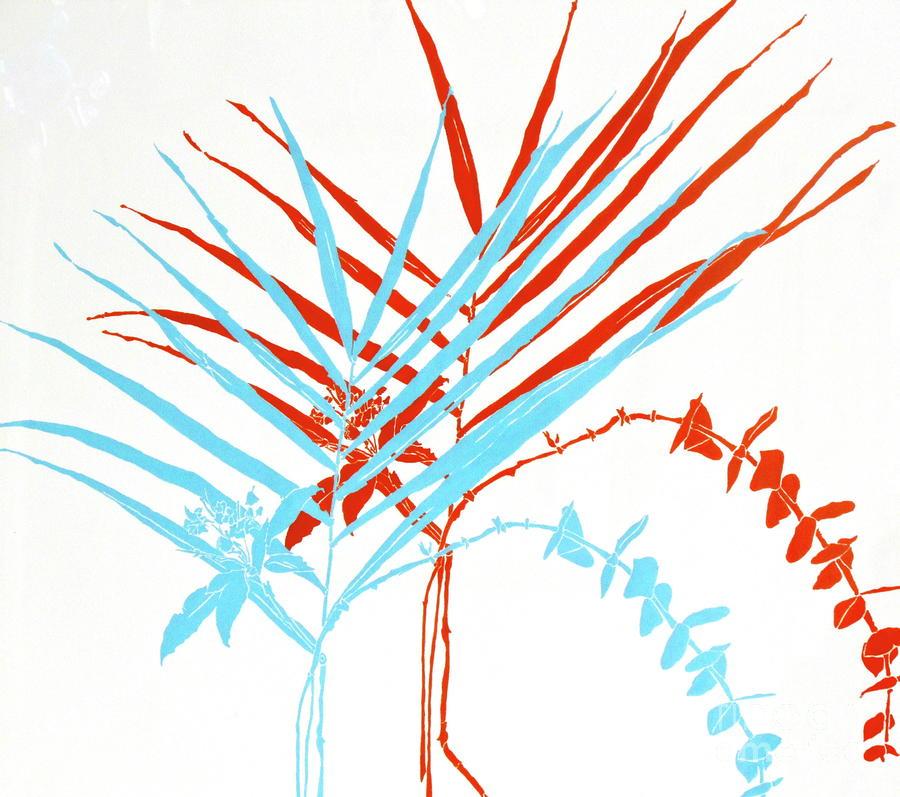 Palm Sprigs Painting