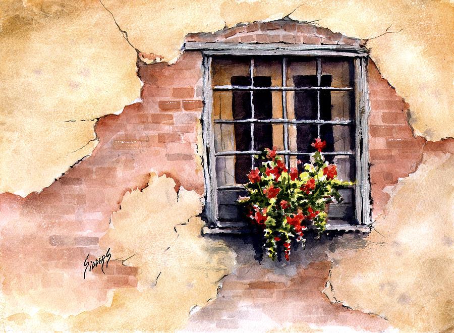 Pampa Window Painting