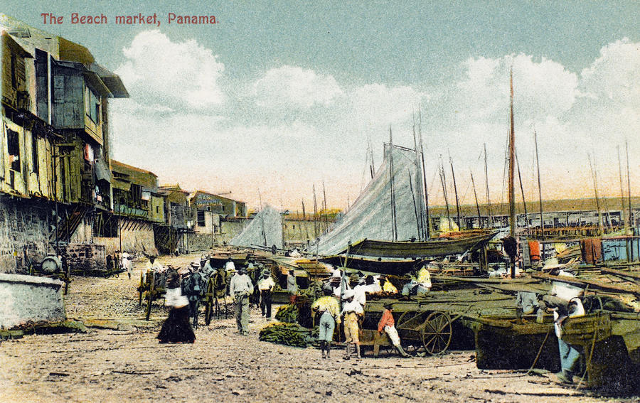 Panama City: Beach Market Photograph