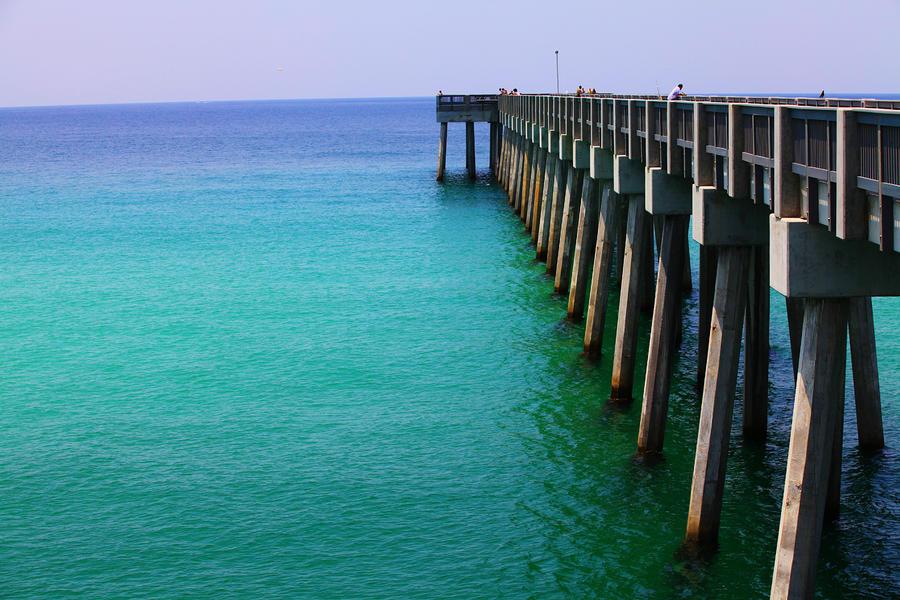Panama City Beach Pier Photograph