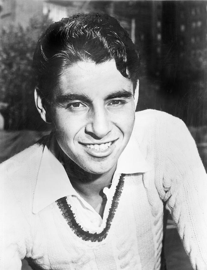 Pancho Gonzales, Tennis Player Photograph