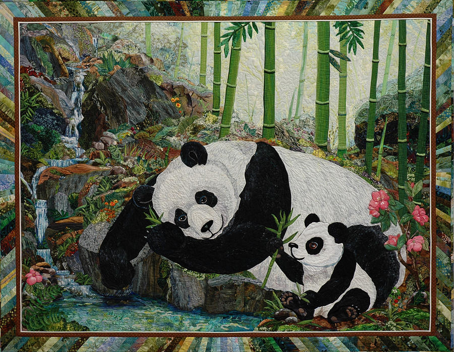 Panda Perfect Painting  - Panda Perfect Fine Art Print
