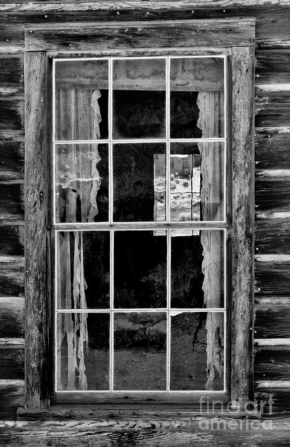 Panes To The Past Photograph