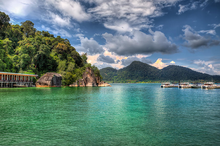 Tropical Photograph - Pangkor Laut by Adrian Evans