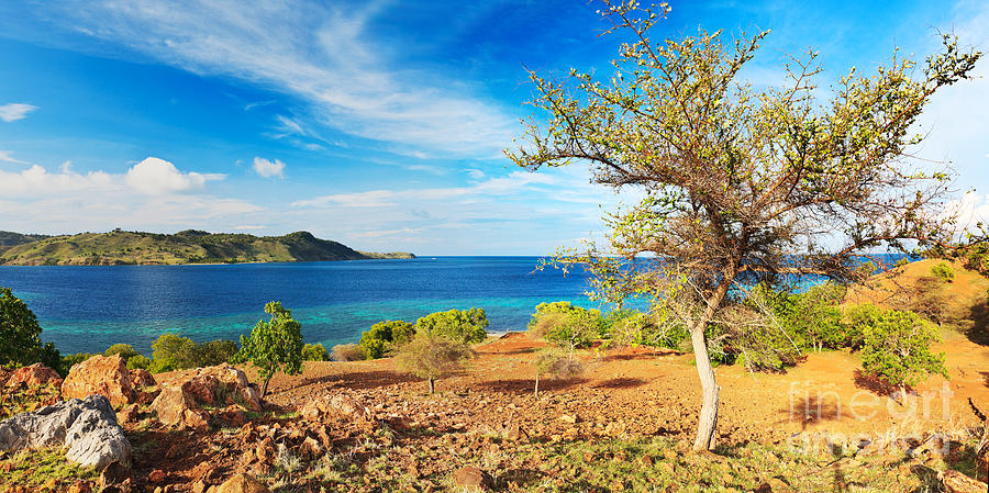 Tropical Photograph - Panorama Island by MotHaiBaPhoto Prints