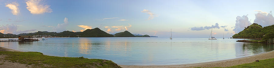 Panoramic1- St Lucia Photograph  - Panoramic1- St Lucia Fine Art Print