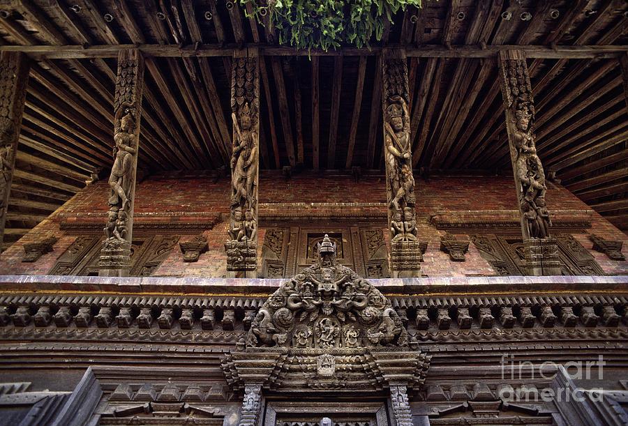 Panote Temple Struts - Nepal Photograph