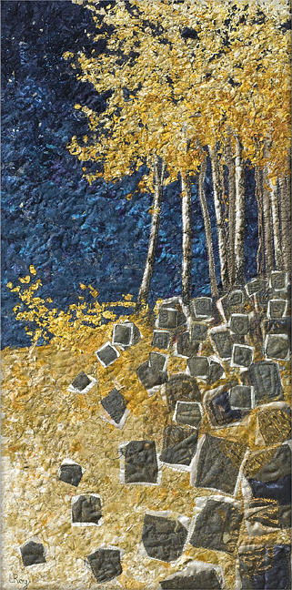 Paper Birch Tapestry - Textile