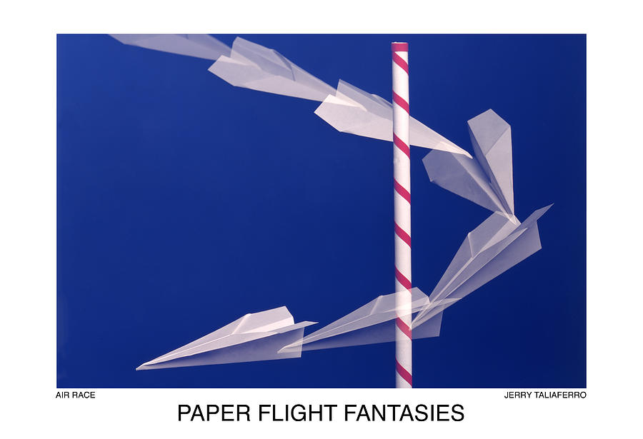 Paper Flight Fantasies - Air Race Photograph  - Paper Flight Fantasies - Air Race Fine Art Print