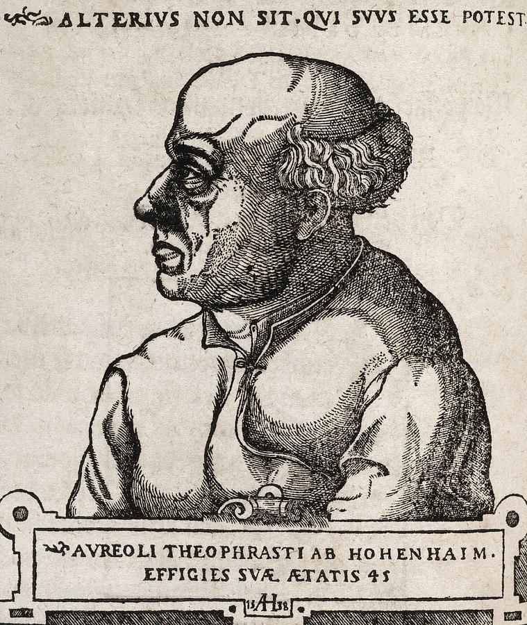 Paracelsus, Swiss Alchemist Photograph