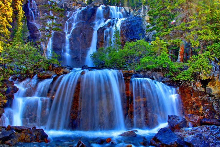 Paradise Falls Photograph