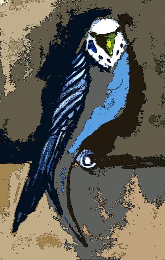 Paraket Blue Painting