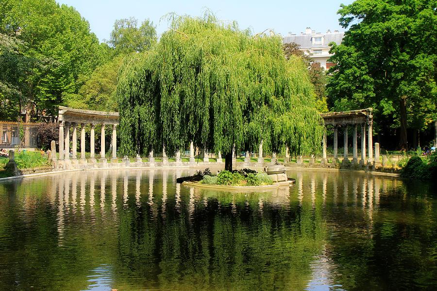 Parc Monceau Paris Photograph