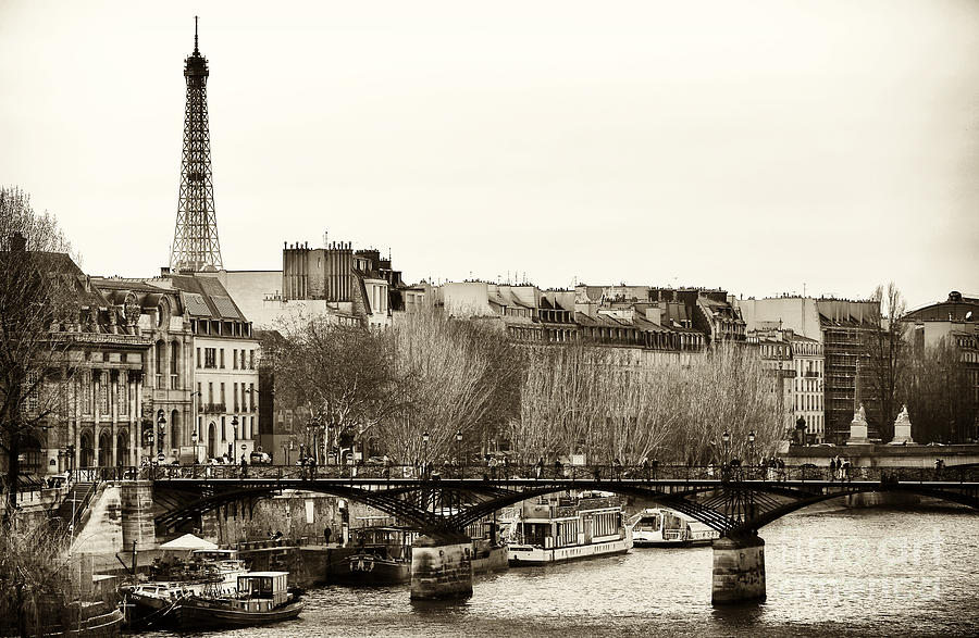 Paris Days Photograph  - Paris Days Fine Art Print