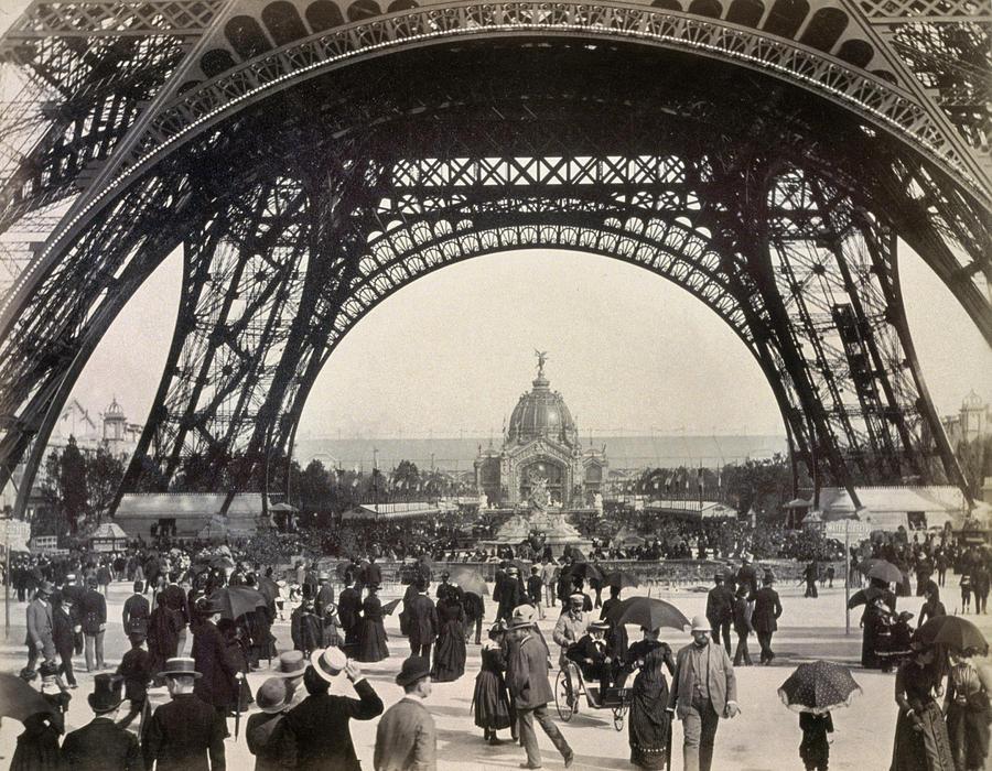 paris exposition 1889 photograph by granger. Black Bedroom Furniture Sets. Home Design Ideas