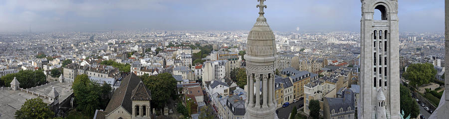 Paris Form Sacre Coeur Photograph  - Paris Form Sacre Coeur Fine Art Print
