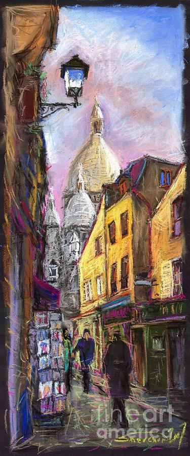 Paris Montmartre 2 Pastel
