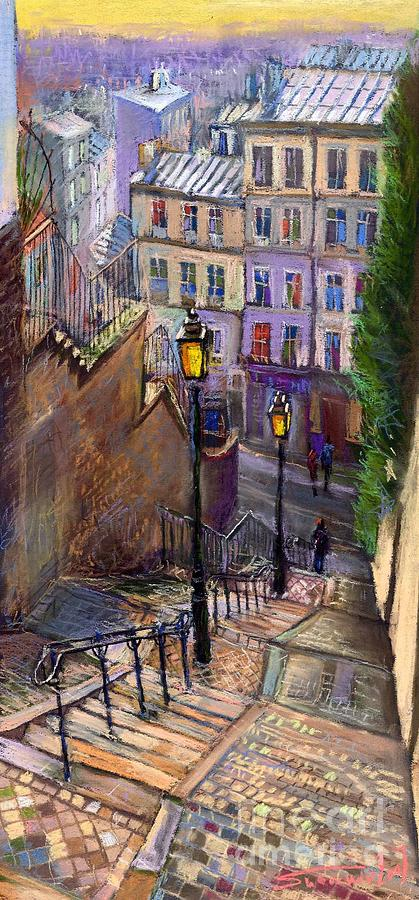 Paris Montmartre Painting