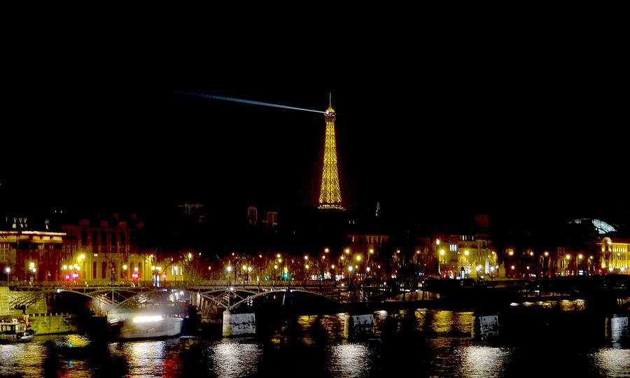 Paris Night Photograph  - Paris Night Fine Art Print