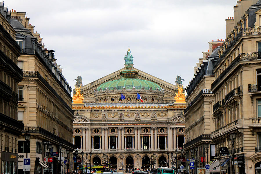 Paris Opera 2 Photograph  - Paris Opera 2 Fine Art Print