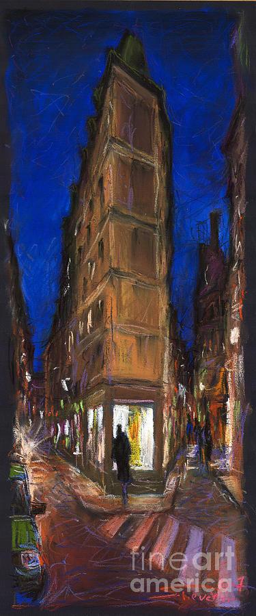 Europe Pastel - Paris Street 2 by Yuriy  Shevchuk