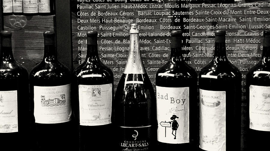 Paris Wine Shop Photograph  - Paris Wine Shop Fine Art Print