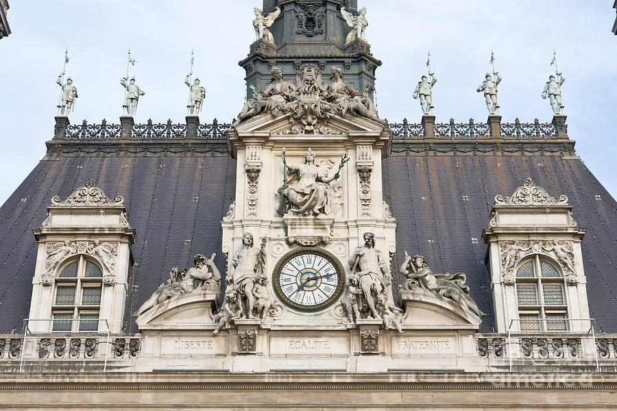 Parisian City Hall II Photograph