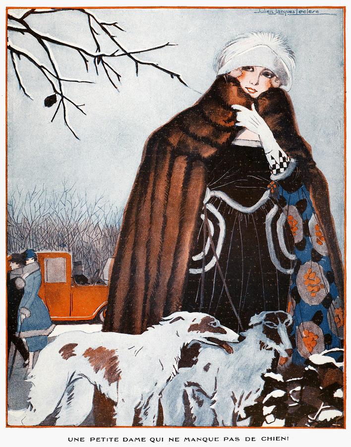 Parisian Style, 1921 Photograph