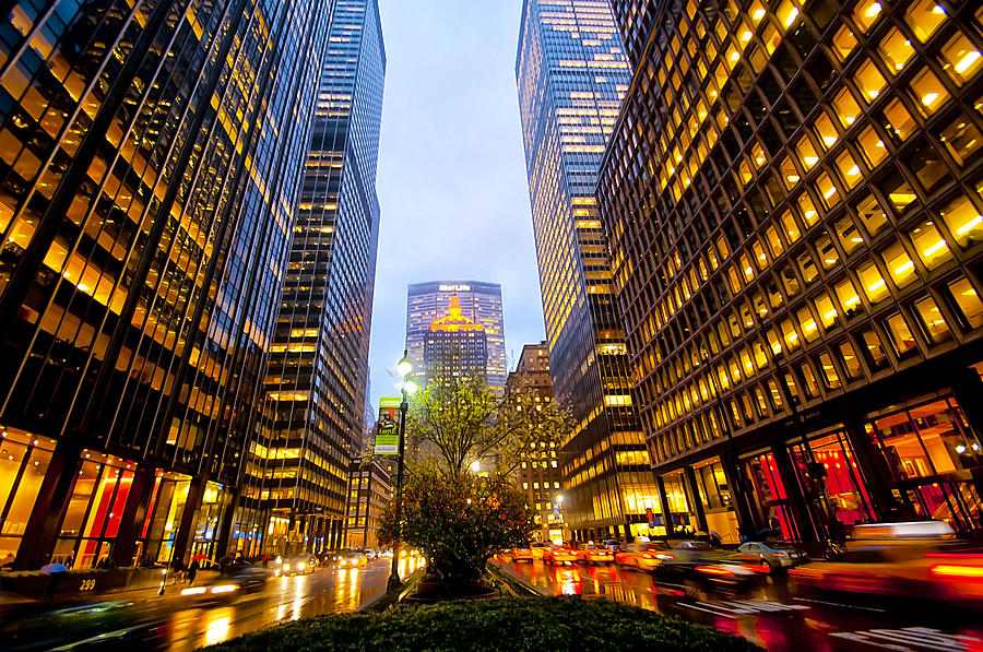 Park Avenue Nyc Photograph