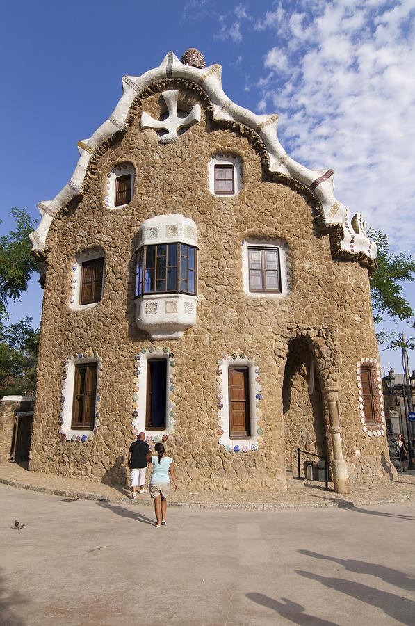 Park Guell Photograph - Park Guell Barcelona Antoni Gaudi by Matthias Hauser