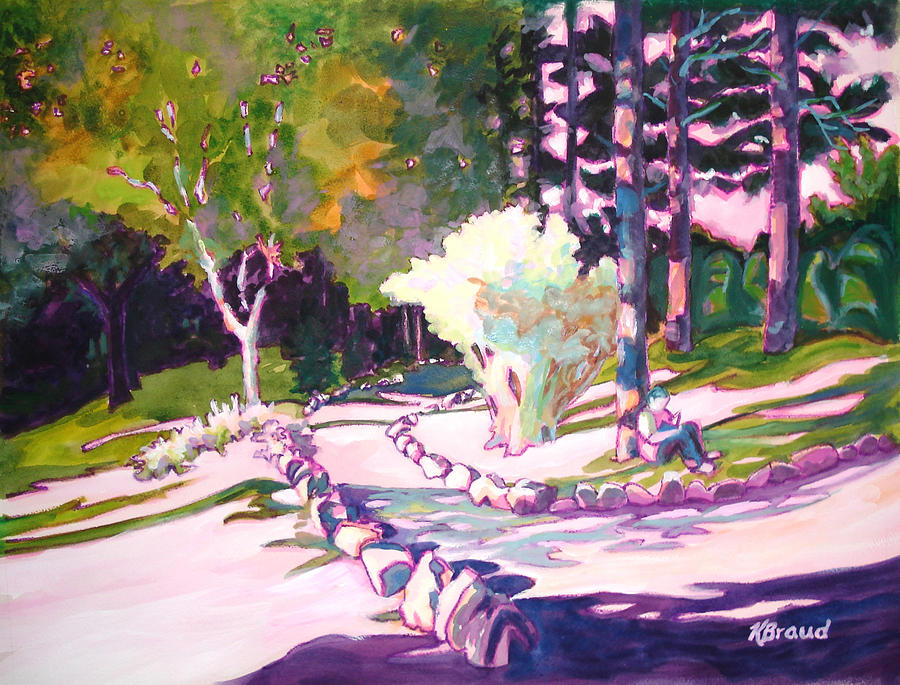 Park Trails 2           Painting  - Park Trails 2           Fine Art Print