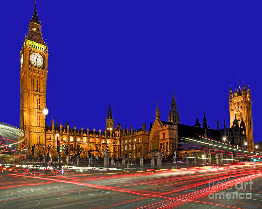 Parliament Square In London England Photograph  - Parliament Square In London England Fine Art Print