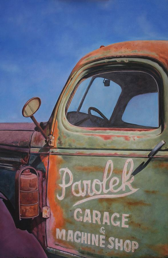 Parolek Wrecker Painting