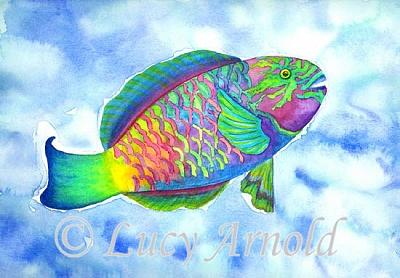 Parrotfish Painting