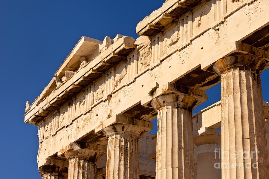Parthenon Photograph - Parthenon by Brian Jannsen