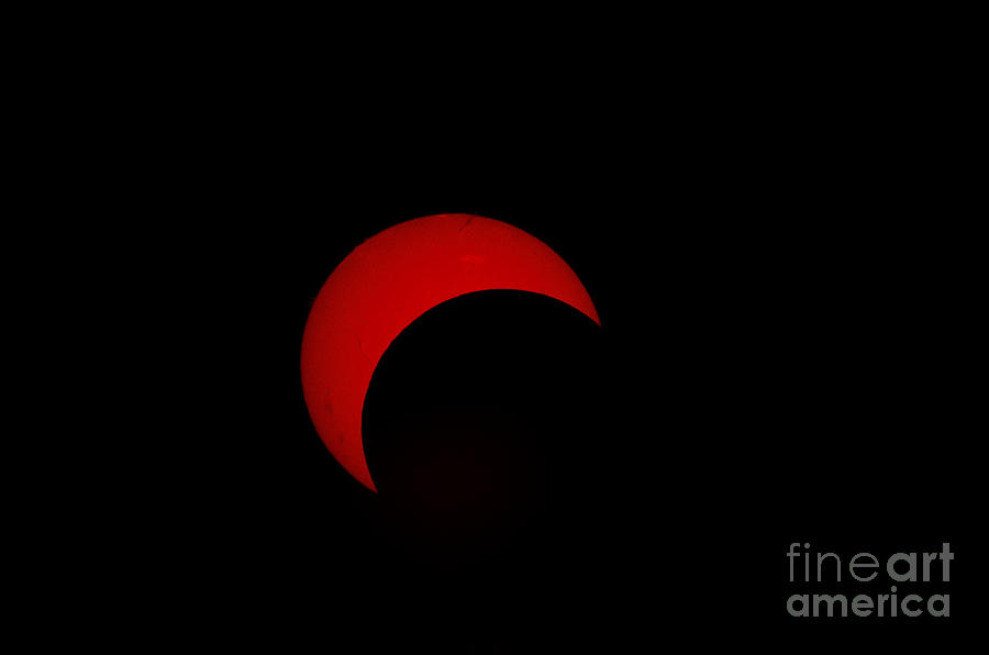 Partial Solar Eclipse Photograph